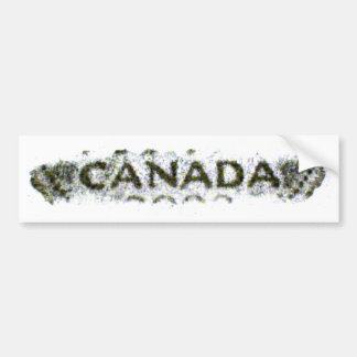 Canada Nickelrub2 Bumper Sticker