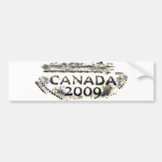 Canada Nickelrub3 Bumper Sticker