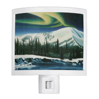 Canada Nightlight Yukon Canada Landscape Light