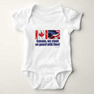 ¡Canadá, nos colocamos en guardia con thee! Body Para Bebé