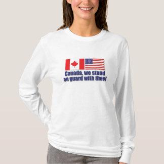Canadá, nos colocamos en guardia con thee. playera