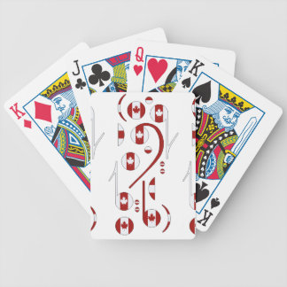 Canada Notes Playing Cards