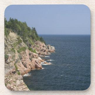 Canada, Nova Scotia, Cape Breton Island, Cabot 2 Drink Coaster