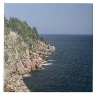 Canada, Nova Scotia, Cape Breton Island, Cabot 2 Large Square Tile
