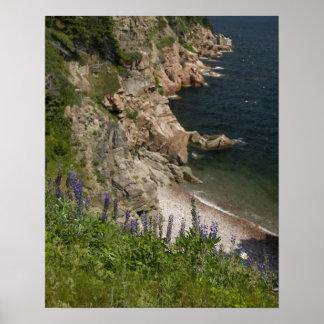 Canada, Nova Scotia, Cape Breton Island, Cabot 3 Poster