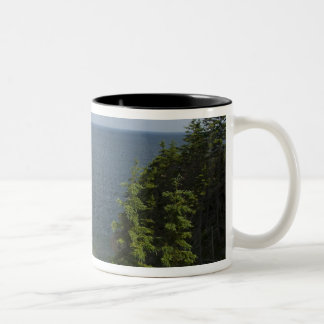 Canada, Nova Scotia, Cape Breton Island, Cabot Two-Tone Coffee Mug