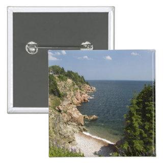 Canada, Nova Scotia, Cape Breton Island, Cabot Pinback Button