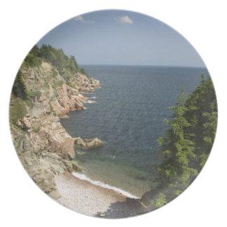 Canada, Nova Scotia, Cape Breton Island, Cabot Dinner Plates