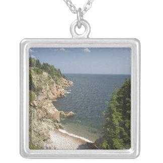 Canada, Nova Scotia, Cape Breton Island, Cabot Square Pendant Necklace