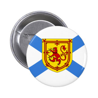 Canada Nova Scotia Flag Pinback Button