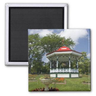Canada, Nova Scotia, Halifax, Public Gardens. 2 2 Inch Square Magnet