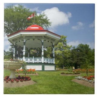 Canada, Nova Scotia, Halifax, Public Gardens. Large Square Tile