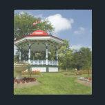 "Canada, Nova Scotia, Halifax, Public Gardens. Notepad<br><div class=""desc"">COPYRIGHT Cindy Miller Hopkins / DanitaDelimont.com   CN07 CMI0101.jpg   Canada,  Nova Scotia,  Halifax,  Public Gardens. Historic Victorian city garden created in 1836,  traditional gazebo.</div>"