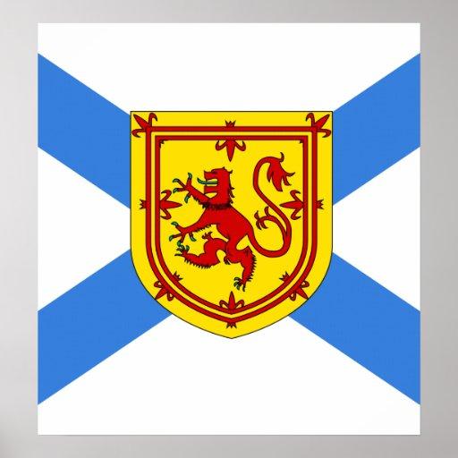 Canada Nova Scotia High quality Flag Posters
