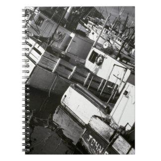 Canadá, Nueva Escocia, Digby. Barcos de pesca Notebook