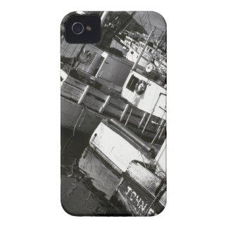 Canadá, Nueva Escocia, Digby. Barcos de pesca iPhone 4 Case-Mate Carcasa