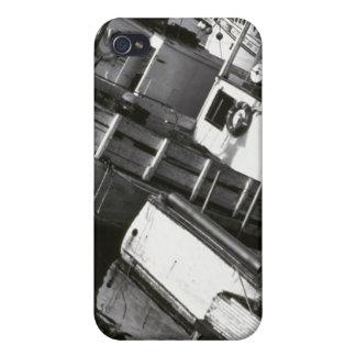 Canadá, Nueva Escocia, Digby. Barcos de pesca iPhone 4 Funda