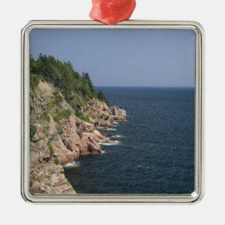 Canadá, Nueva Escocia, la Isla de Cabo Bretón, Adorno Cuadrado Plateado