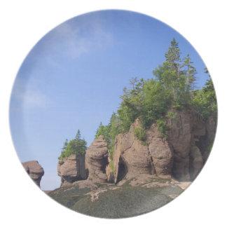 Canadá, Nuevo Brunswick, cabo de Hopewell, bahía d Plato Para Fiesta