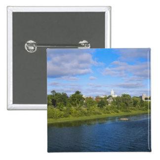 Canadá, Nuevo Brunswick, Fredericton, opinión de l Pin Cuadrado