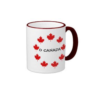 CANADA O CANADA RINGER COFFEE MUG