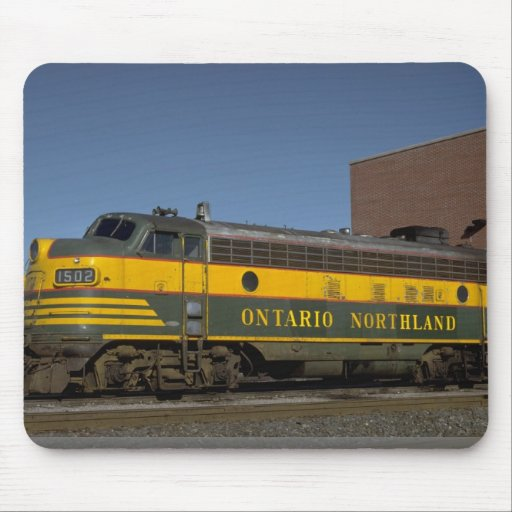 Canada, Ontario, Northland FP-7 Mouse Pads