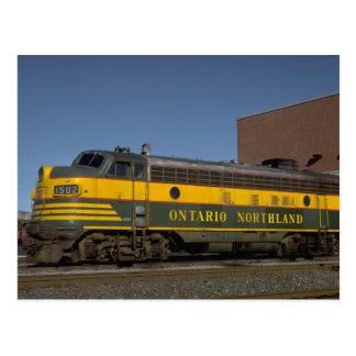 Canada, Ontario, Northland FP-7 Postcard