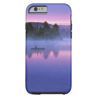 Canadá, Ontario, parque de Algonguin, Canoeist Funda De iPhone 6 Tough