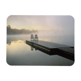 Canadá, Ontario, parque provincial del Algonquin, Rectangle Magnet