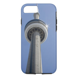 Canada, Ontario, Toronto. Top of CN Tower with iPhone 8/7 Case
