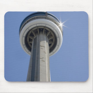 Canada, Ontario, Toronto. Top of CN Tower with Mouse Pad