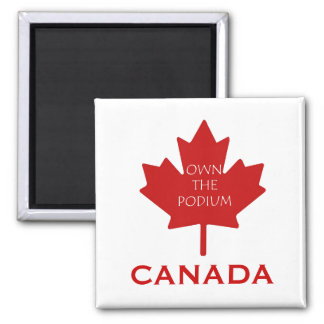 Canada Own The Podium2 Refrigerator Magnets