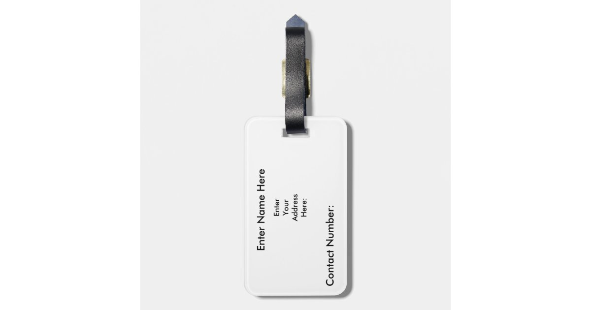 Personalized Luggage Tags Wedding Favors Canada : Canada Personalized Travel tag, Luggage Tag Zazzle