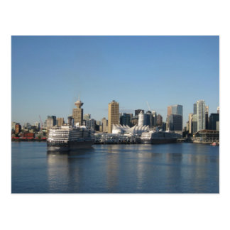 Canada Place, Vancouver BC Post Card