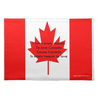 Canada Cloth Place Mat