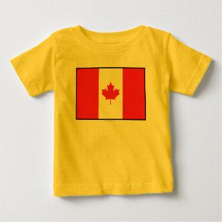 Canada Plain Flag Baby T-Shirt