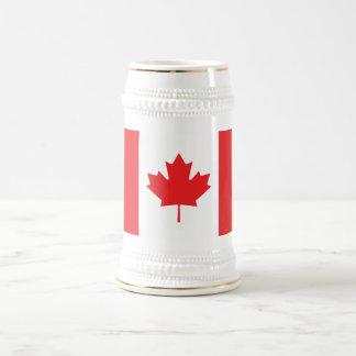 Canada Plain Flag Beer Stein
