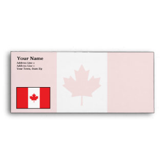 Canada Plain Flag Envelope