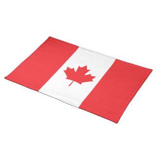 Canada Plain Flag Place Mat