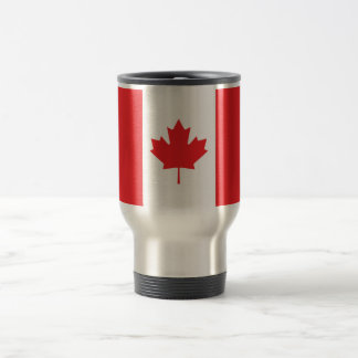 Canada Plain Flag Travel Mug