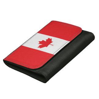 Canada Plain Flag Wallets For Women