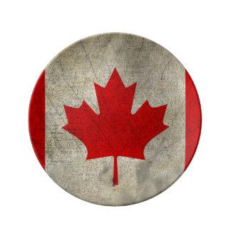 Canadá Plato De Cerámica