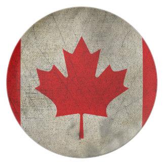 Canadá Plato De Comida