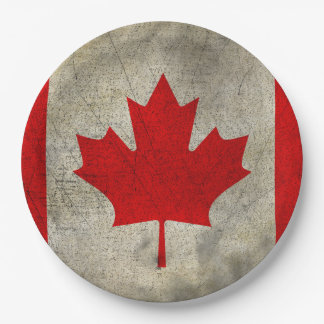 Canadá Platos De Papel