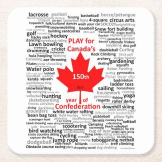 Canada Play List  Coaster
