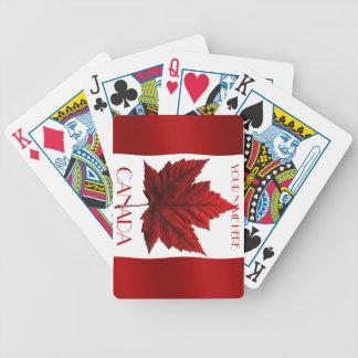 Canada Playing Cards Canada Flag Souvenir Cards