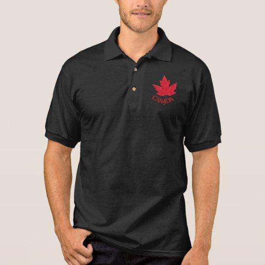Canada Polo Shirt Men's Souvenir Canada Golf Shirt | Zazzle.com