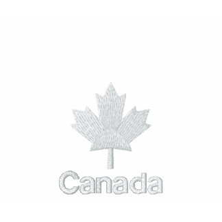 Canada Polo Shirt - White Canadian Maple