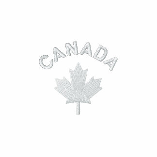 Canada Polo Shirt - White Canadian Maple Shirt