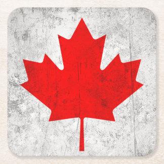 Canadá Posavasos Desechable Cuadrado